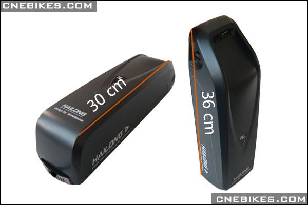 Down Tube Type Hailong 18650 Battery Cell Electric Bike
