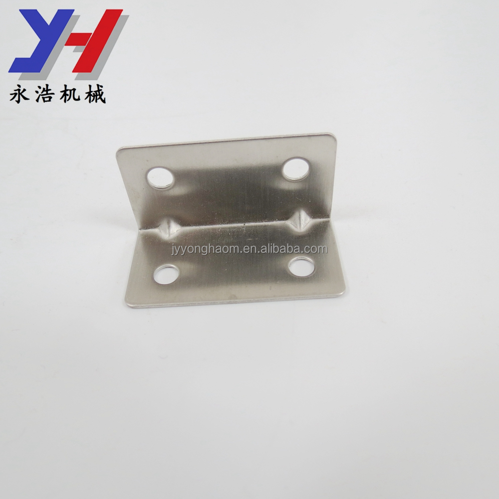 OEM ODM customized stainless steel anchor angle bracket