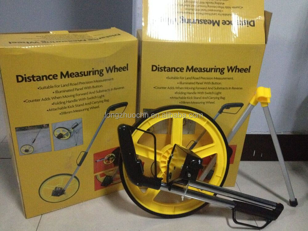 Entfernungsmesser Rad : Professionelle entfernungsmesser messrad mit zähler straße abstand