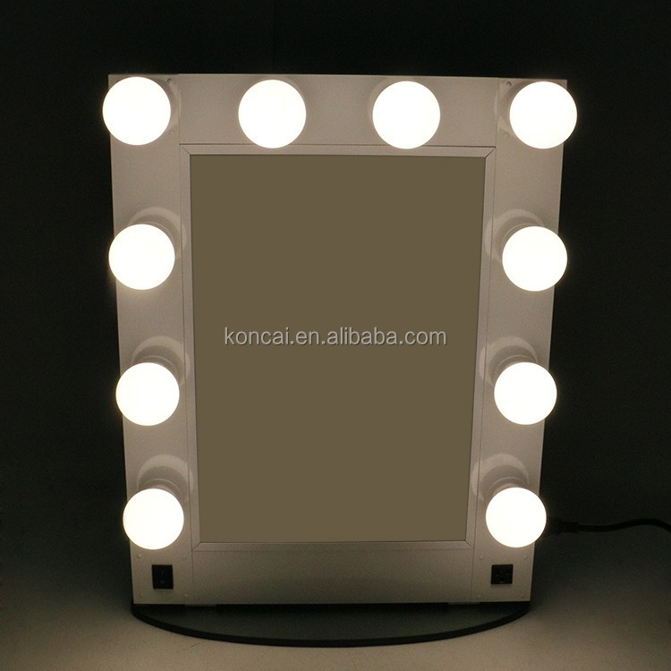 Led Make Up Mirror With Stand Up Design,Professional Led Lights ...