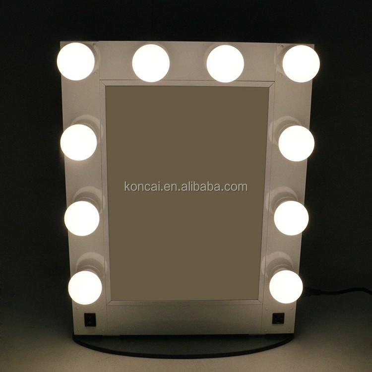 professionelle kosmetikspiegel hollywood stil make up spiegel mit gl hbirnen buy. Black Bedroom Furniture Sets. Home Design Ideas