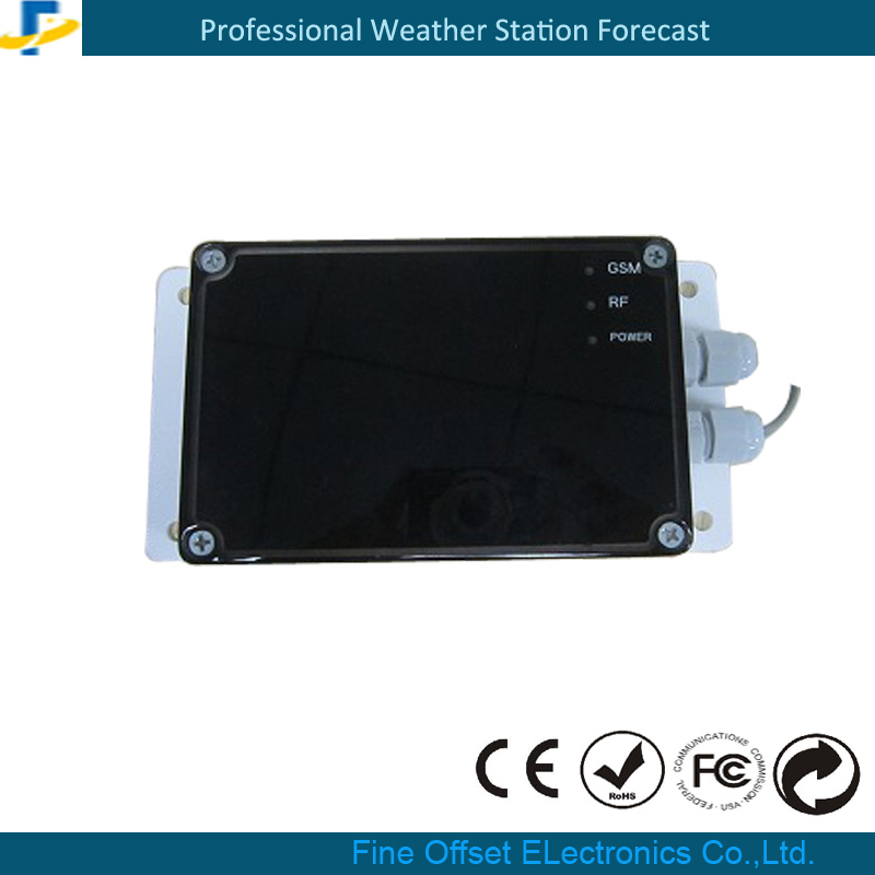 Solar Power Weather Station GPRS SMS Wireless Remote Data Logger