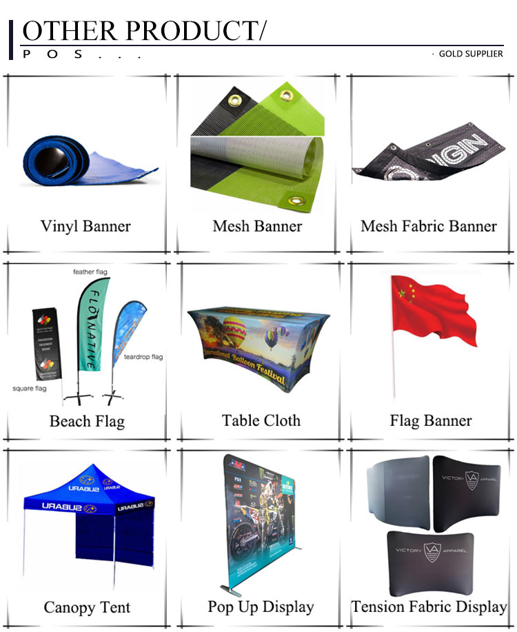De publicidad al aire libre de lágrima de la pluma de playa banderas personalizadas promoción y Banner