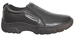 Roper Men's Performance Smooth Leather Slip-On Shoes Round Toe by Roper