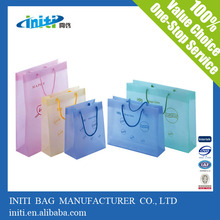 China Supplier Wholesale Clear Shopping Plastic Bag and other Materials Shopping Bag
