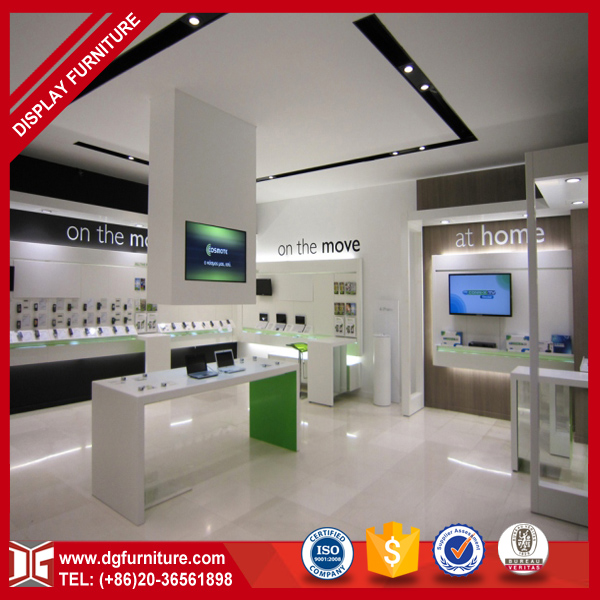 Retail Fashion Modern Mobile Phone Shop Interior Design