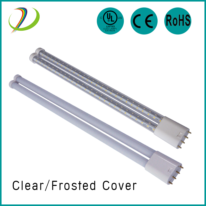 High quality 360 degree tubular lamps 23W LED 2G11 tube Light UL CE qualified