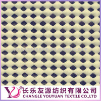 Grip it rug non slip pvc foam mesh fabric for floor mat