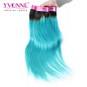 Yvonne wholesale yak hair extensions los angeles grey ombre human hair