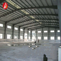 pre engineered quick build portal frame metal building material / steel buildings for sale