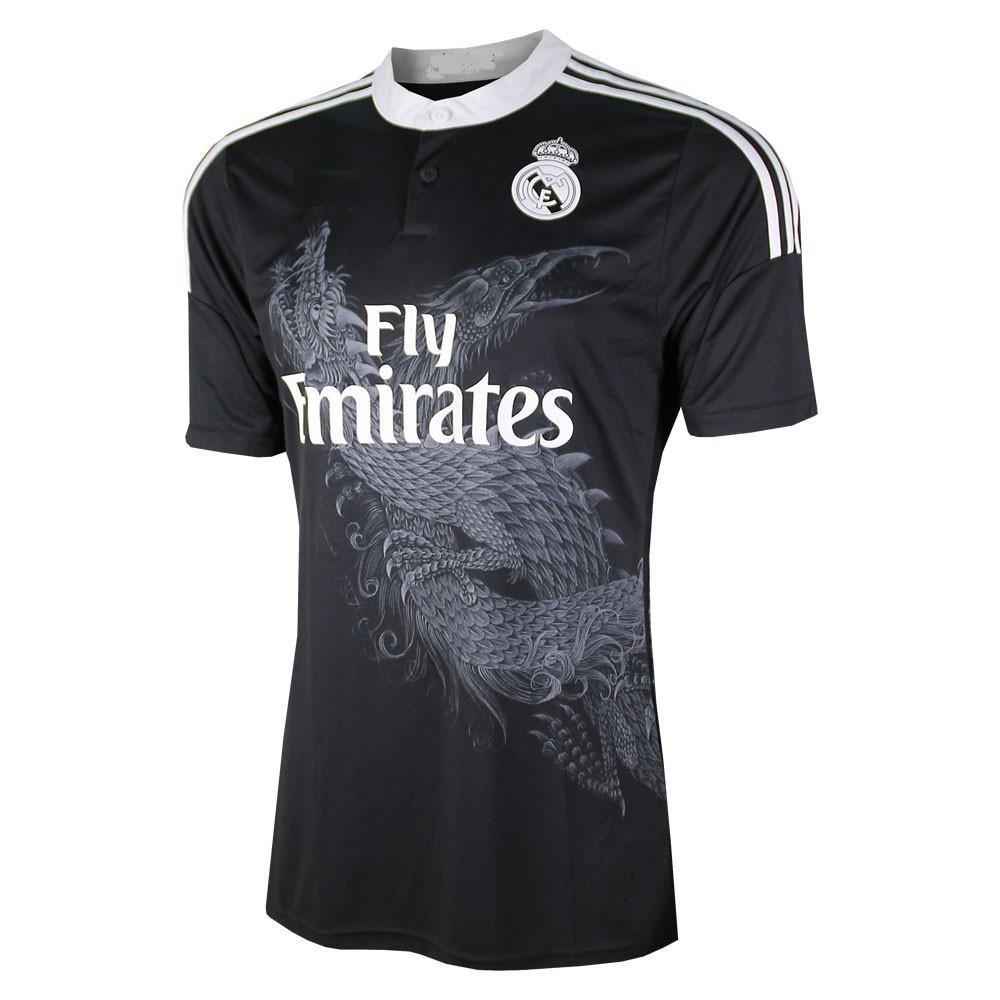 513369686 Ronaldo  7 Black Real Madrid  7 Cristiano Ronaldo Away Kids Soccer Jersey  with shorts