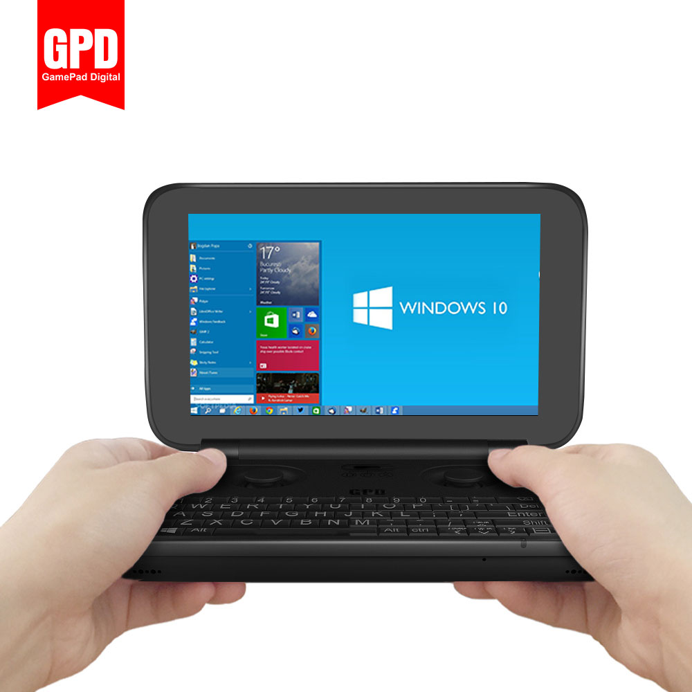 buy gpd win gamepad laptop notebook tablet pc 5 5 handheld game console video. Black Bedroom Furniture Sets. Home Design Ideas