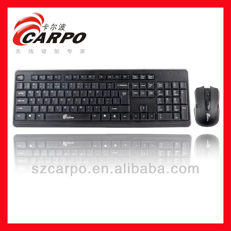 laptop backlit keyboard wireless keyboard and mouse H-608