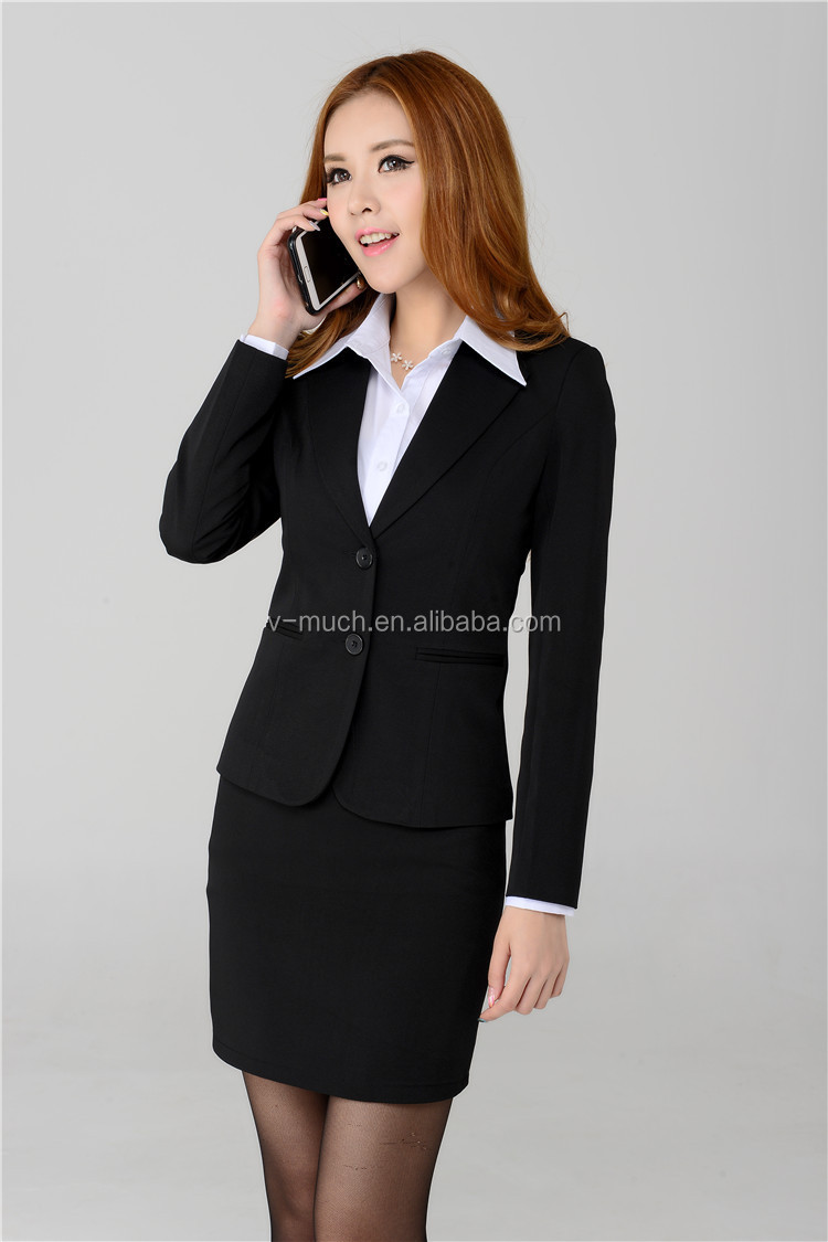 Fashion Ladies Skirt Suits /women Office Suit/white Linen Pants ...