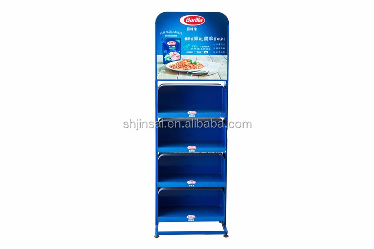 Hot Selling In China Market Food Supermarket Display Shelf Snack Chocolate Display Stand