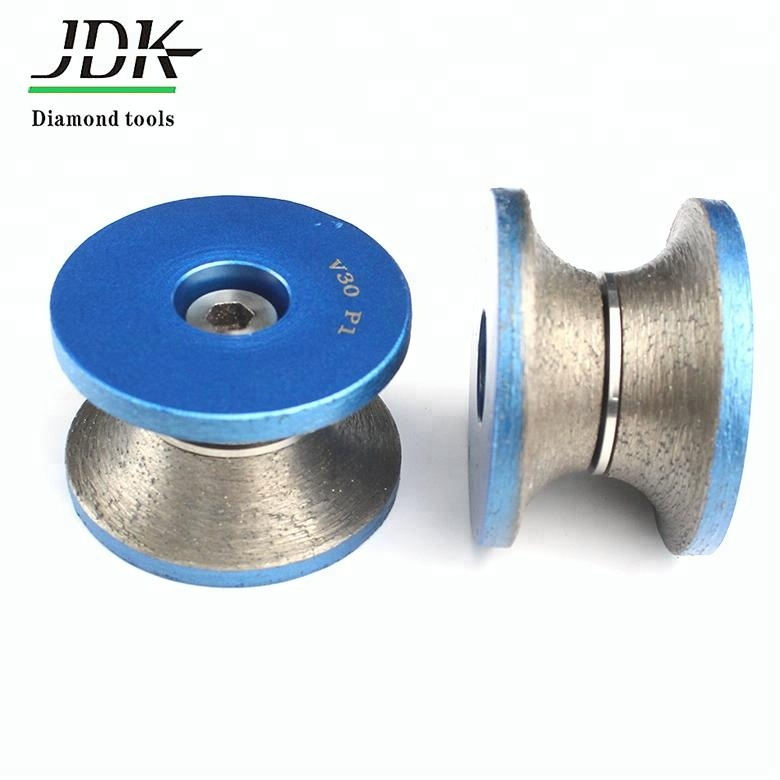 40mm Bullnose Diamond Profile Wheel for Angle Grinder Select Thickness 5mm