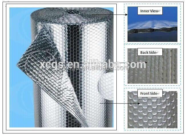 Bubble Foil  Insulation for floor wall caravan shed loft roof Free Postage