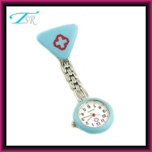 hot nurse gifts as hospital clock alloy watch with chain and clip lastest style