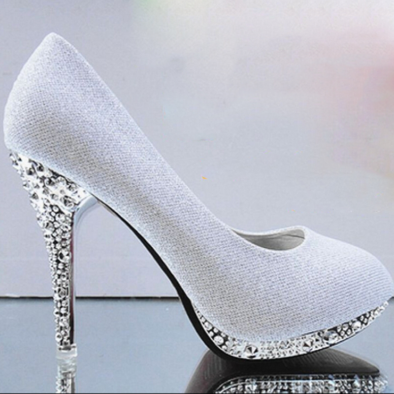 Bridal Shoes High Heels: Gold High Heels Green White Wedding Shoes Red Bridal Shoes