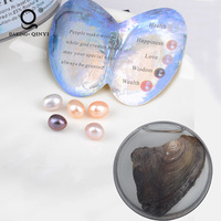 Canned Genuine Oyster Pearl Wish Pearl In Can Freshwater Cultured Love Wish 5-7Mm