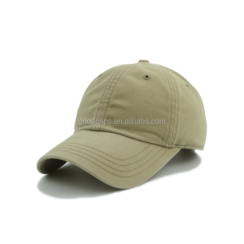 100% cotton blank baseball cap without logo promotional 6 panel caps and  hats men c749ec9a6e4