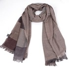Hot Sell Reversible Plaid scarf hijab, soft scarf for women Fashion Head scarf