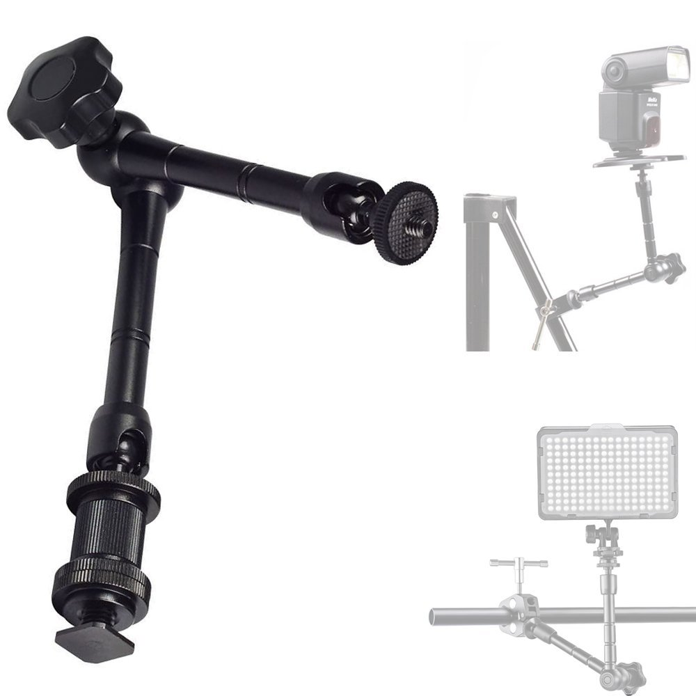Photo Studio Accessories 11 inch Magic Arm Monopod DSLR Camera Movie Kit d7100 650d 70d 60d Accessories