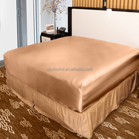 luxury silk bed linen home silk fitted sheet,queen size silk bed sheet alibaba china