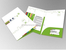 Professional presentation folder printing Two pockets cheap price and good quality