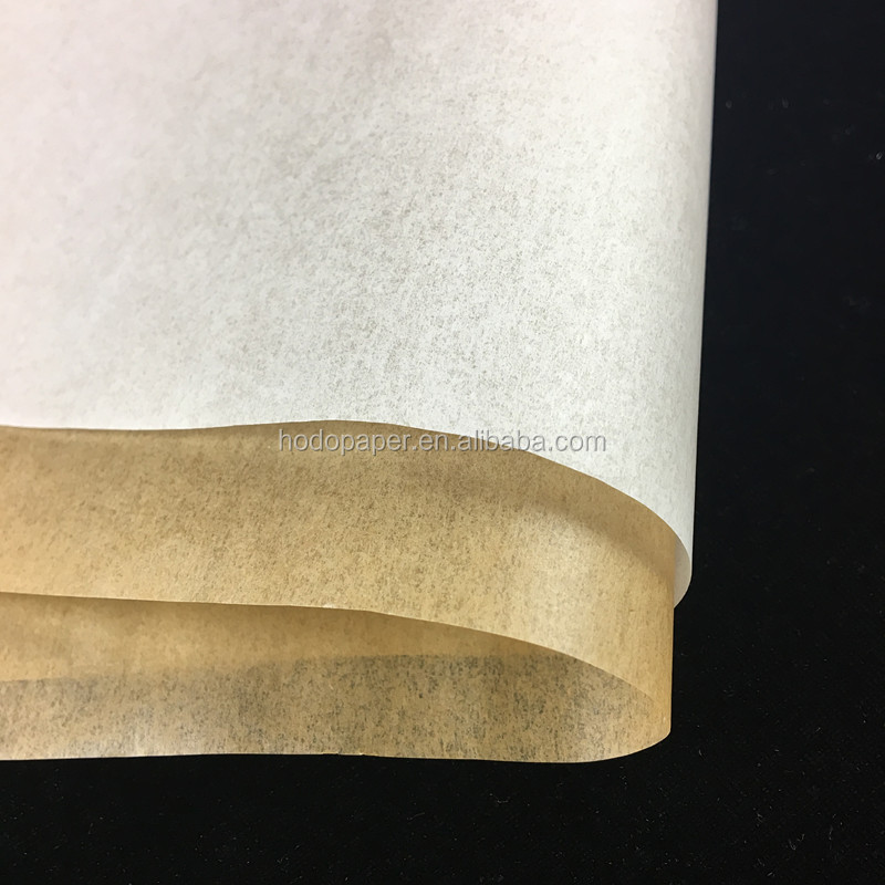 Factory price 45g Double Side Siliconized Parchment Paper Jumbo Roll
