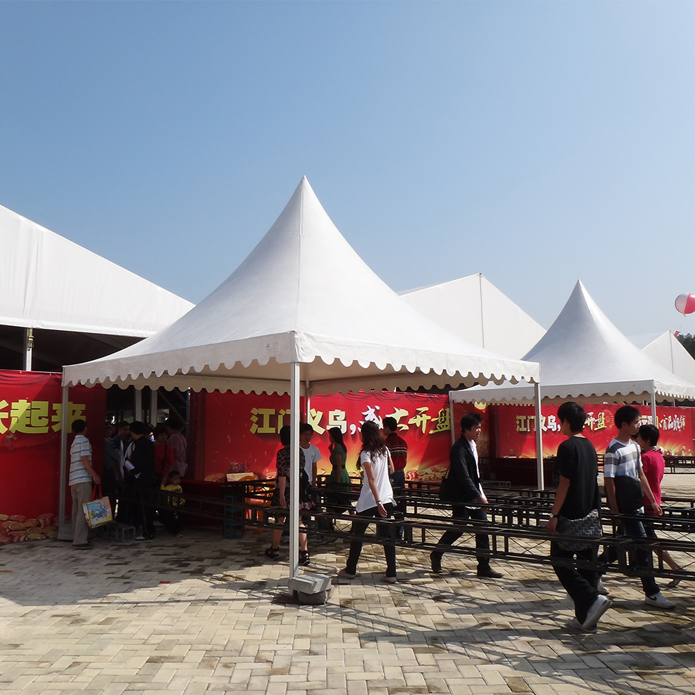 COSCO Commercial Aluminum PVC Exhibition Gazebo Tent Modular Trade Show Promotional Tent