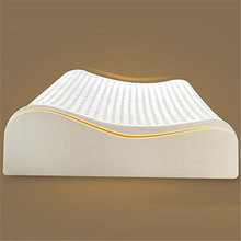 200TC Cotton Fabric Cover Natural Latex Foam Pillow