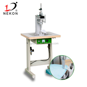 Non-woven Disposable N95 face mask machine earloop welding machine
