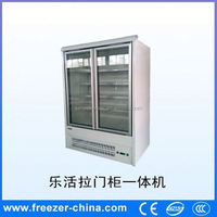 Sanye new style upright commercial refrigerators