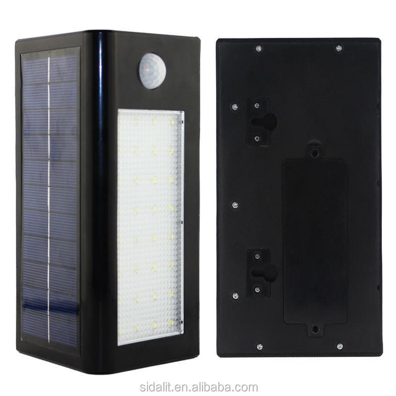 Sw-l014 New Arrival Solar Motion Sensor Outdoor Vintage Wall Light ...