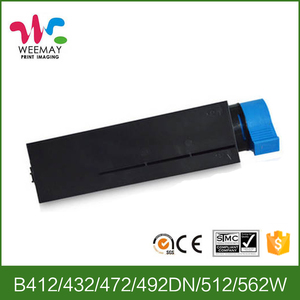 Cheap toner cartridge compatible for OKI B412,432,B512,472,492DN,562W