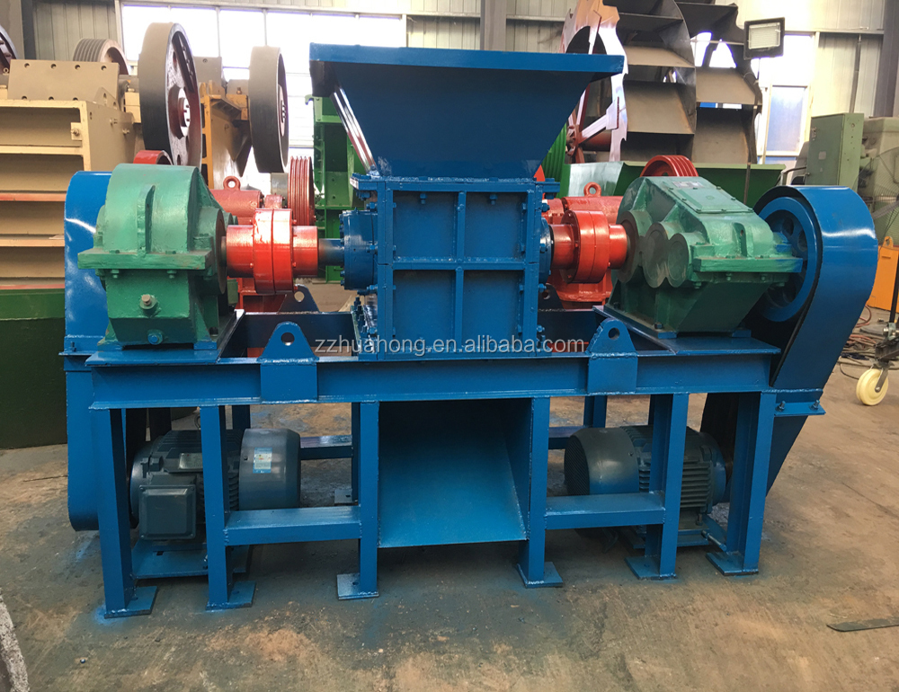 small double shaft scrap metal shredder machine for sale