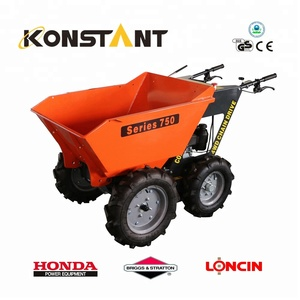Potenza Wheel Barrow 4x4 Mini Dumper Honda Potenza Barrow KT-MD250C