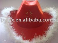 Flashing Cowboy Hat, Light Up Hat, Blinking Party Hat