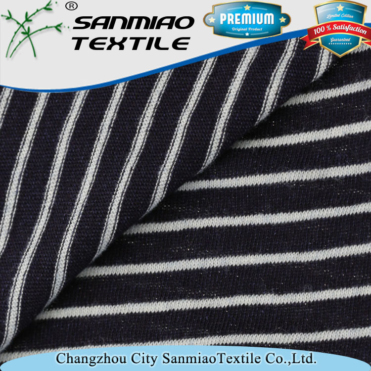 Sanmiao 30s knitted 100% cotton fabric for wholesale