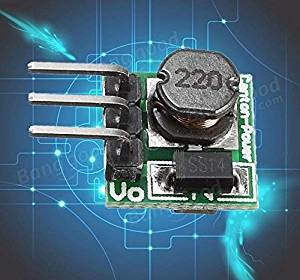 BDR Trading Mini DC-DC 0.8-3.3V To DC 3.3V Power Step UP Boost Module For Arduino Breadboard