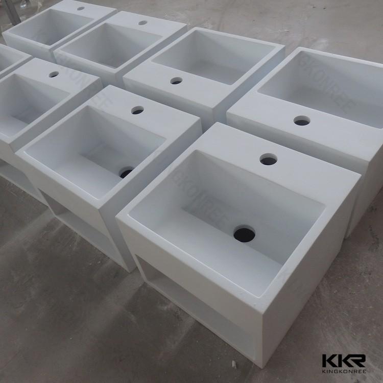 Muur gemonteerd stenen trog wastafel met twee kranen badkamer wastafels product id 60235902795 - Stenen wastafel ...