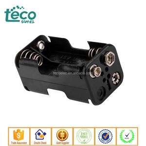 TBH-2A-4E-S Ningbo TECO snap connecting 4 AA Battery Holder