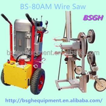 Portable Concrete Cutting Machine Bsgh Hydraulic Diamond Wire Saw ...