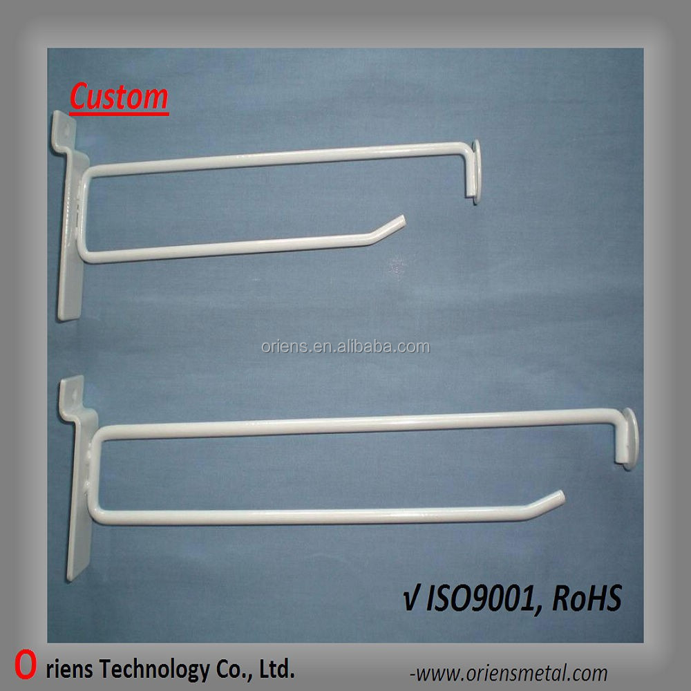 hanging display hook/hat display hooks/supermarket display hook