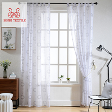 China Keqiao CSH001-A Fabric Macrame Cheap Lace Oriental Curtains For Home