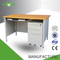 Luoyang factory long study computer table desk and printer designs