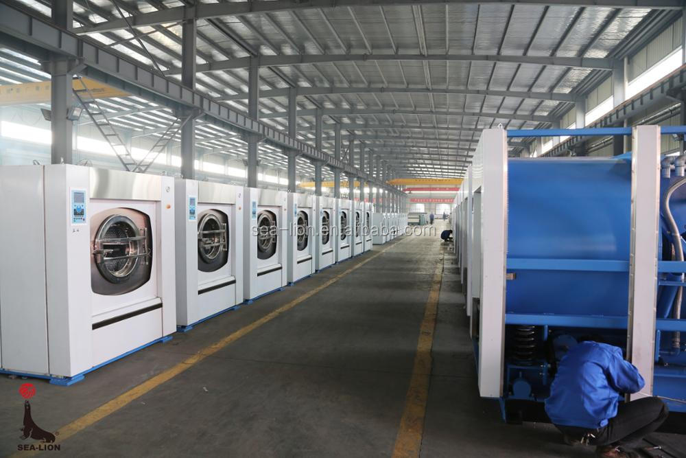 Fully-auto barrier washer extractor