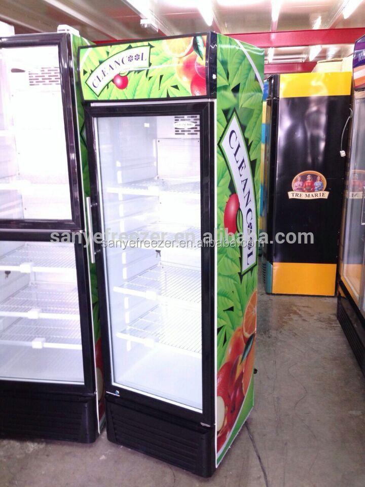 Einzelne Tür Koks Pepsi Aufrecht Kühlschrank Französisch Tür ...