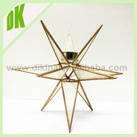 COLORED* BEST SELLER* wedding home office garden Table candle holder- Terrarium display - Wholesale Geometric Stained Glass Lamp